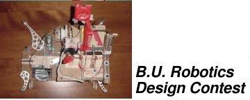 BU Robotics Design Contest