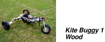 Wooden Kite Buggy