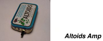 Altoids Amp: CMOY