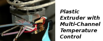 Plastic Extruder with Multi-Channel Temperature Control